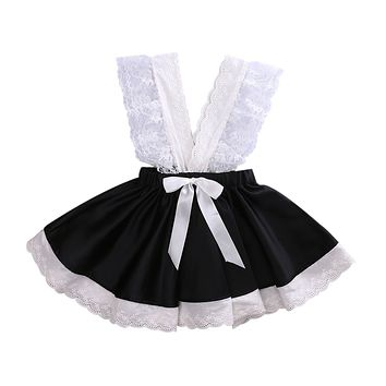 Kids Baby Flower Dress Girls Bow Sequins Tulle Tutu Dress Princess Party Wedding Gown Dress