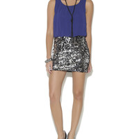 Sequined Skirt 2fer Dress | Shop Dresses at Wet Seal