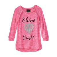Miss Chievous 3/4-Sleeve Tunic - Girls 7-16, Size: