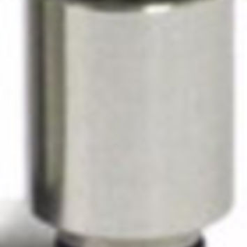 Wide-Bore Stainless Steel Drip Tip