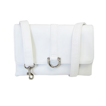 White Flat Belt Bag - Hipsters for Sisters