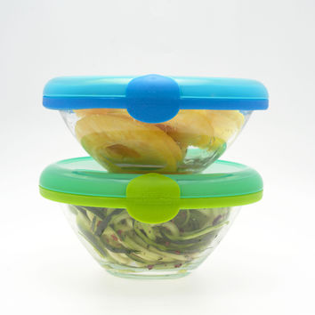 Set of Two Medium Bowl Huggers - Fits 5.5 inch to 6.75 inch Bowls