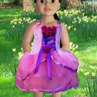 American girl doll clothes, Dolls fancy dress, 18 inches dolls, Girls Christmas gift, Girl Birthday gift