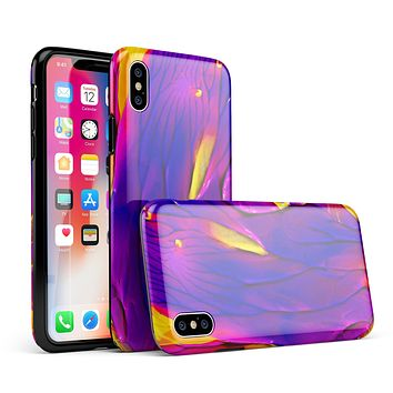 Liquid Abstract Paint V9 - iPhone X Swappable Hybrid Case