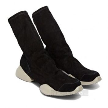 Indie Designs Vicious Sole Suede Ankle Boots