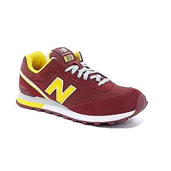 New Balance Men's 515 Casual Sneakers - Burgundy/Yellow