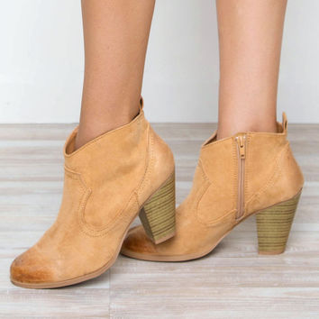 Last Breath Distressed Booties