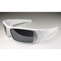 NEW Oakley - Gascan - Sunglasses, Polished White / Black iridium, 03-474