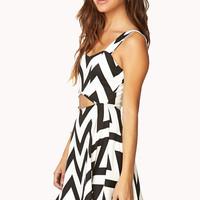 Mod Chevron Dress