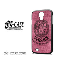Versace Texture Culture For Samsung Galaxy S4 Case Phone Case Gift Present YO