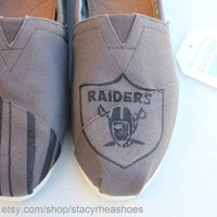 Oakland Raiders TOMS Football