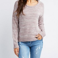 Scoop Neck Pullover Sweater | Charlotte Russe