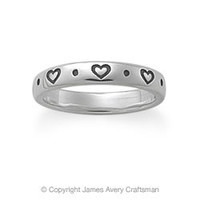 Amor Stacked Ring from James Avery