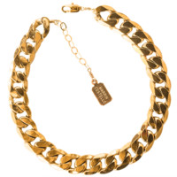 QUEENS ANKLET — gold
