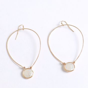 Heart's Not Stone Earring Gold