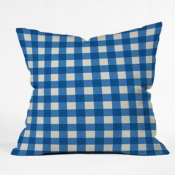 Holli Zollinger Gingham Throw Pillow