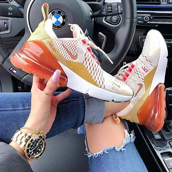 Nike Air Max 270 Air Cushion Cushioning Running Shoes-1