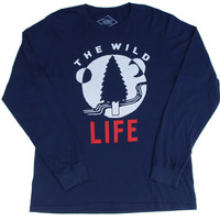 Altru Apparel The Wild Life L/S mens shirt (Size S & 2XL only)