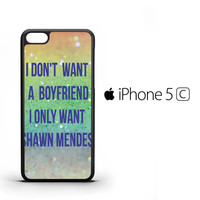 SHAWN MENDES X2135 iPhone 5C Case
