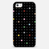Pin Points Black iPhone 5s case by Project M | Casetify