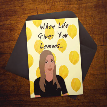 When Life Gives You Lemons...Put 9 In A Bowl! - Card