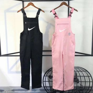 Nike Hot Sale Fashion Women Casual Overalls Jumpsuit 2-Color -2