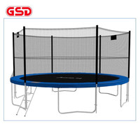 GSD High Quality 6 Feet 1.83M Diameter Spring Trampoline Jump Bed With Safety Net Ladder TUV-GS CE Was Approved