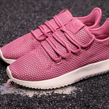 HCXX A260 Adidas Tubular Shadow CK Yeezy 350 Knit Running Shoes Red