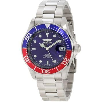 Invicta Men's 5053 Pro Diver Automatic 3 Hand Blue Dial Watch