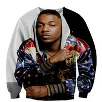 Kendrick Lamar tde crewneck sweatshirt Fan Art All Over Style Print