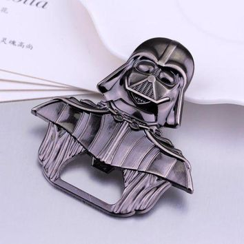 VOND4H star wars Darth Vader Bar Beer Bottle Opener Metal Alloy style 6*6 cm