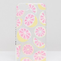 Skinnydip Glitter Grapefruit iPhone Case 6/7/8/s/6 Plus/7 Plus/iPhoneX at asos.com