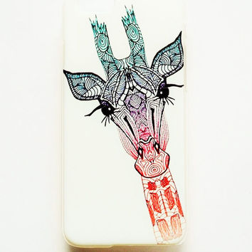 iPhone 6 Case Cover Giraffe iPhone 6 Hard Case Cute Funny Back Cover For iPhone 6 Inspirational Slim Design Case