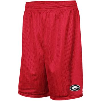 Georgia Bulldogs Muse Mesh Basketball Shorts - Red
