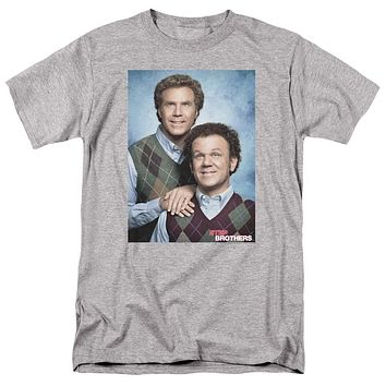 Step Brothers T-Shirt Portrait Athletic Heather Tee
