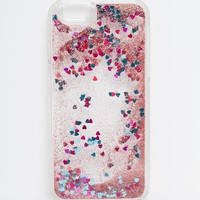 ASOS iPhone 6 Heart Liquid Glitter Case
