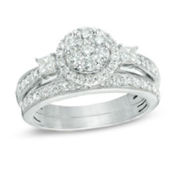 Engagement Rings - Cushion, Emerald, Princess, Pear, Asscher, Round and Other Fancy Shapes at Zales