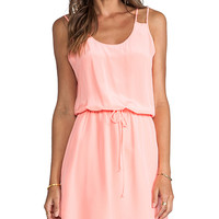 Rory Beca Contra Dress in Peach
