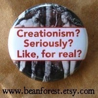 creationism is silly by beanforest on Etsy