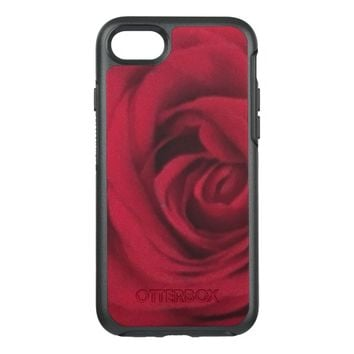 Rose Photo OtterBox Symmetry iPhone 7 Case