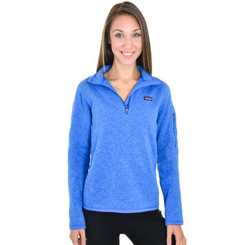 Patagonia Womens 14 Zip Better Sweater From Essentialapparelco