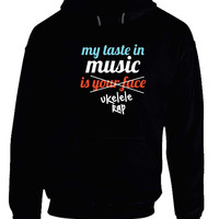 Twenty One Pilots My Taste In Music Is Your Face Hoodie