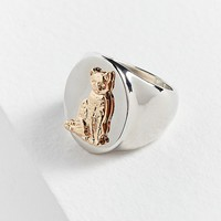 Cat Signet Ring | Urban Outfitters