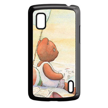 Little Teddy Bear in Beach Art Nexus 4 Case