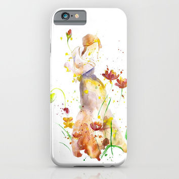 Woman's Abstract - Fall iPhone & iPod Case by MIKART