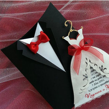 Shop boxes for wedding invitations on wanelo wedding invitation boxes groom suit handmade bridal invitation boxes invitation envelopes stopboris Image collections