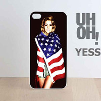 Marina and the Diamonds customized for iphone 4/4s/5/5/5c, samsung galaxy s3/s4/s5 and ipod 4/5 case