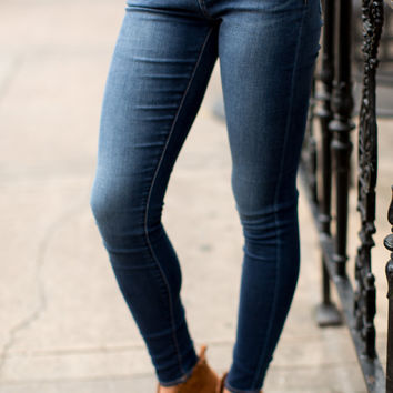 Articles of Society Mya Skinny Jeans - Glendale