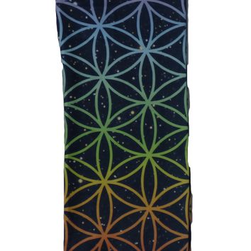 Chakra Colors Flower of Life All Over Print Half Sleeve Compression Arm Band
