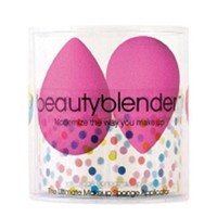 Nigel Beauty Emporium - Two Pink Beauty Blenders In Canister